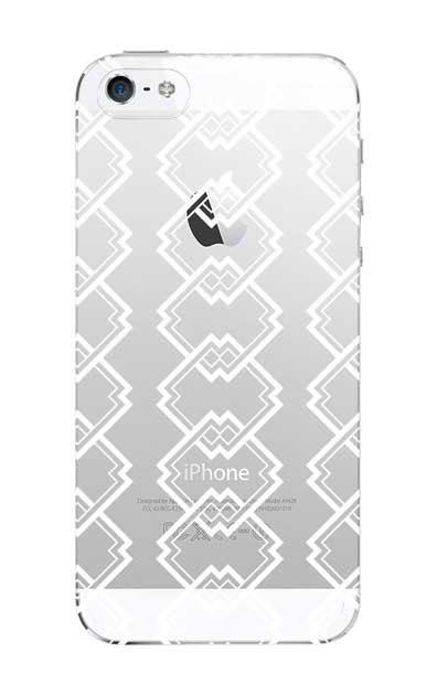 iPhone5Sのクリア(透明)ケース、吉原繋ぎ【スマホケース】