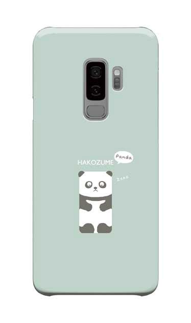 Galaxy S9+のケース、おひるね中の、はこづめパンダ【スマホケース】