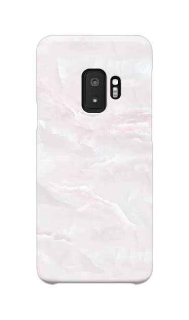 Galaxy S9のケース、クリスタルマーブル【スマホケース】