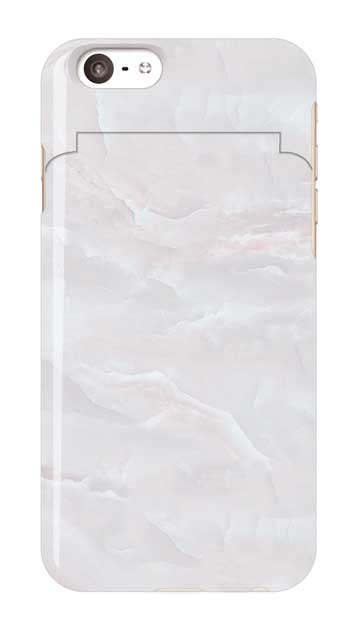 iPhone6sのミラー付きケース、クリスタルマーブル【スマホケース】