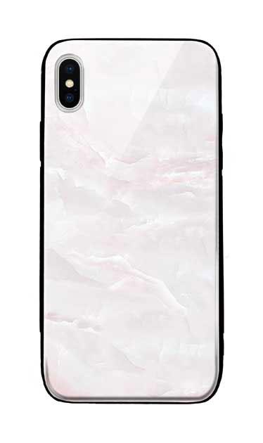 iPhoneXS Maxのケース、クリスタルマーブル【スマホケース】