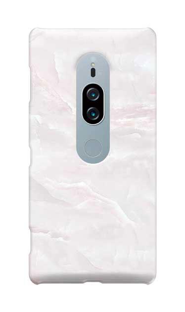 Xperia XZ2 Premiumのケース、クリスタルマーブル【スマホケース】