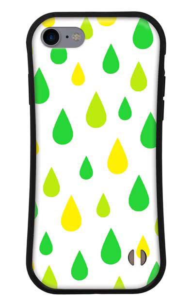 iPhone8のグリップケース、ビタミンカラードロップス【スマホケース】