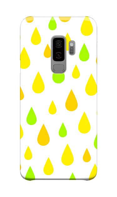 Galaxy S9+のケース、ビタミンカラードロップス【スマホケース】