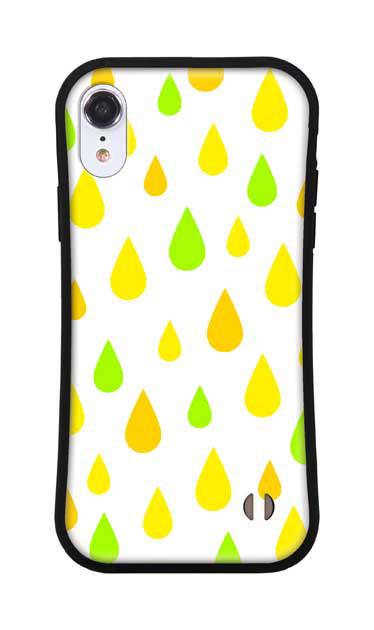 iPhoneXRのグリップケース、ビタミンカラードロップス【スマホケース】
