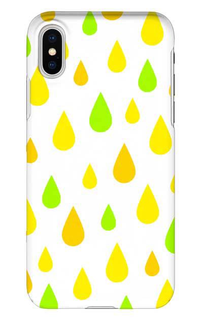 iPhoneXSのハードケース、ビタミンカラードロップス【スマホケース】