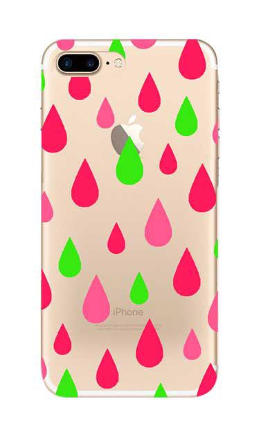 iPhone8 Plusのケース、ビタミンカラードロップス【スマホケース】