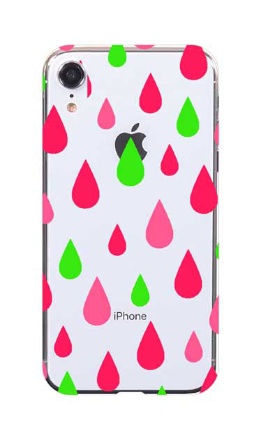 iPhoneXRのケース、ビタミンカラードロップス【スマホケース】