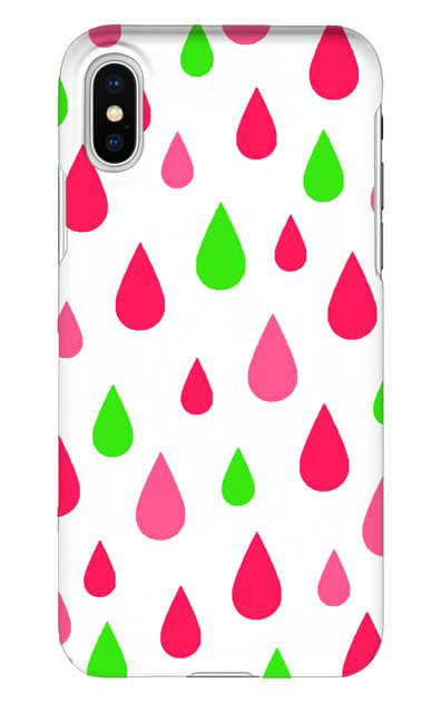 iPhoneXSのケース、ビタミンカラードロップス【スマホケース】