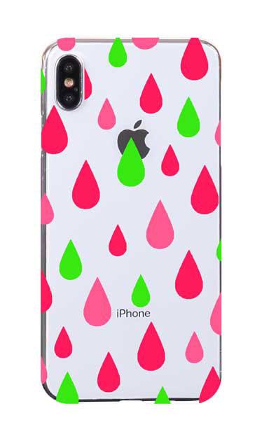 iPhoneXS Maxのケース、ビタミンカラードロップス【スマホケース】