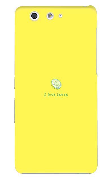 arrows Beのケース、I love lemon【スマホケース】