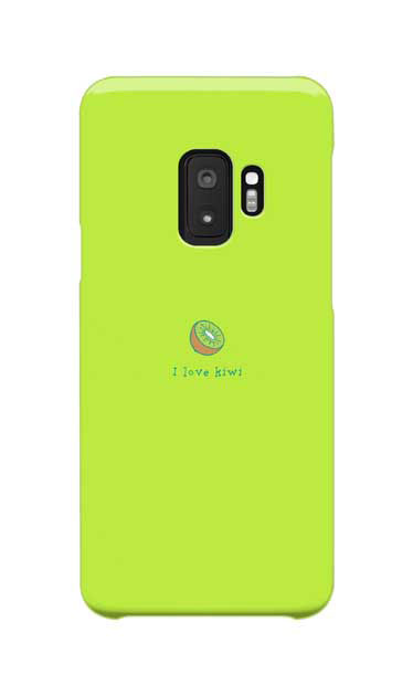 Galaxy S9のケース、I love kiwi【スマホケース】