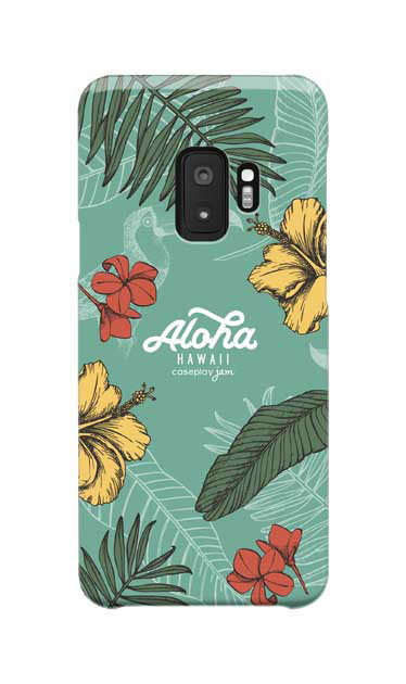 Galaxy S9のケース、Aloha*ハワイアンプラント【スマホケース】