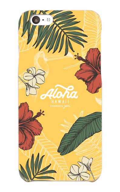 iPhone6のケース、Aloha*ハワイアンプラント【スマホケース】