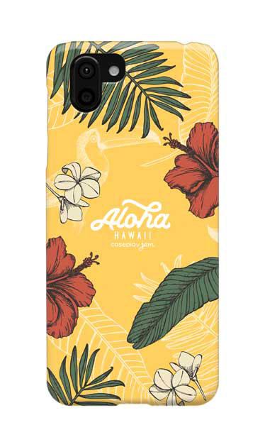 AQUOS R2のケース、Aloha*ハワイアンプラント【スマホケース】