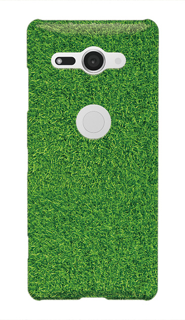 Xperia XZ2 Compactのハードケース、芝生【スマホケース】