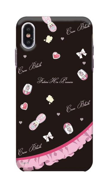 iPhoneXS Maxのケース、キュアブラック
