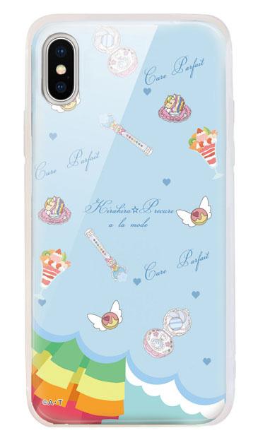 iPhoneXSのケース、キュアパルフェ