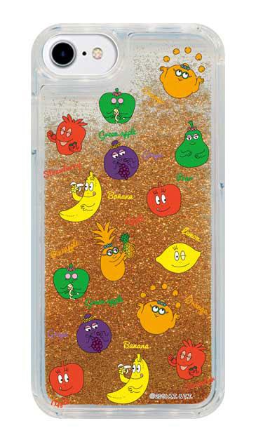 iPhone6sのグリッターケース、バーバフルーツ【スマホケース】