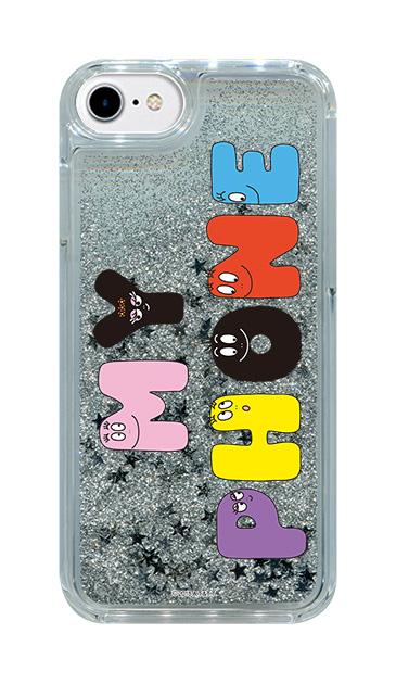 iPhone7のグリッターケース、バーバMYPHONE【スマホケース】