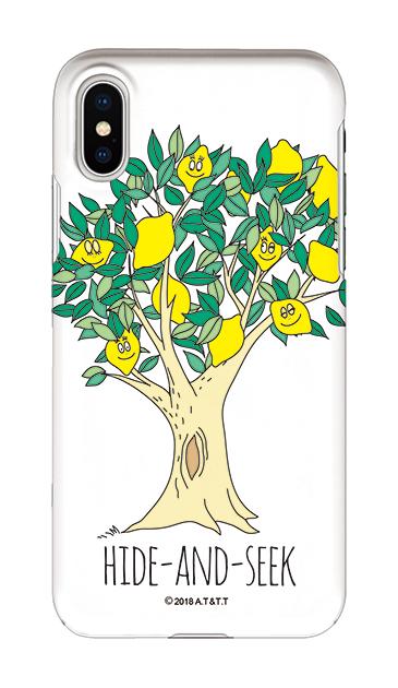iPhoneXSのケース、HIDE-AND-SEEK【スマホケース】