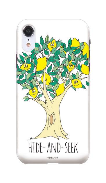 iPhoneXRのケース、HIDE-AND-SEEK【スマホケース】