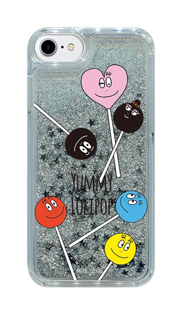 iPhone8のグリッターケース、LOLIPOP【スマホケース】