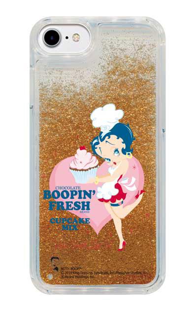 iPhone8のグリッターケース、Boopin Fresh【スマホケース】