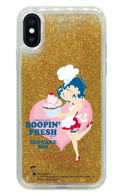 iPhoneXのグリッターケース、Boopin' Fresh【スマホケース】