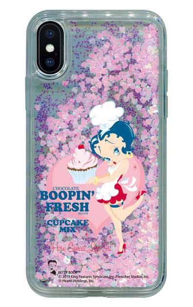 iPhoneXのグリッターケース、Boopin Fresh【スマホケース】