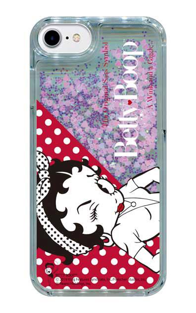 iPhone8のグリッターケース、Wink【スマホケース】