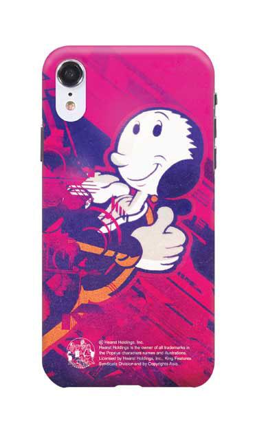 iPhoneXRのハードケース、抱き寄せオリーブ【スマホケース】