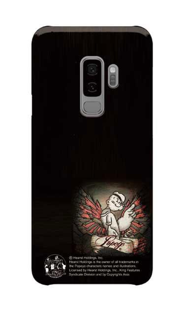 Galaxy S9+のケース、1番ポパイ【スマホケース】