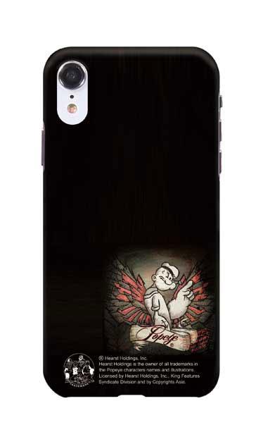 iPhoneXRのハードケース、1番ポパイ【スマホケース】