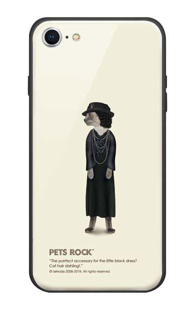 iPhone7のガラスケース、《PETS ROCK》Paris Full Length【スマホケース】