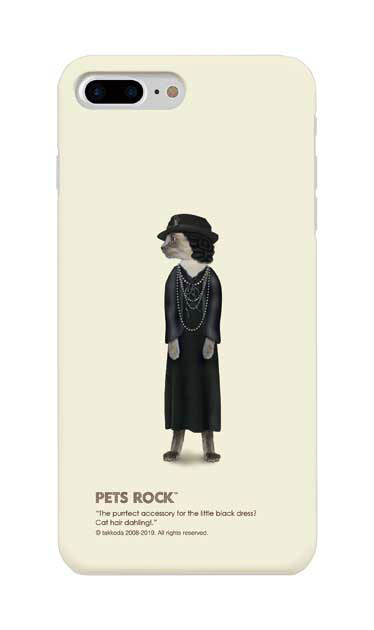 iPhone8 Plusのケース、《PETS ROCK》Paris Full Length【スマホケース】
