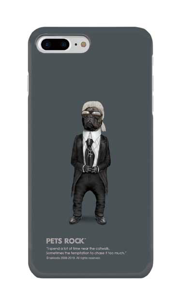 iPhone8 Plusのケース、《PETS ROCK》Fashion Full Length【スマホケース】