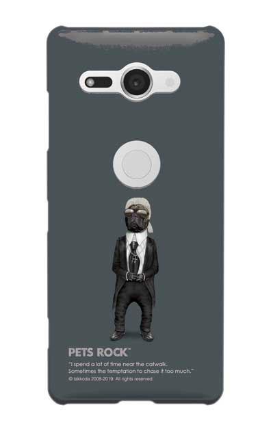Xperia XZ2 Compactのケース、《PETS ROCK》Fashion Full Length【スマホケース】