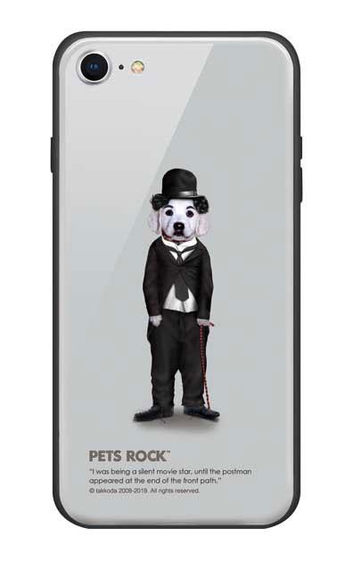 iPhone8のガラスケース、《PETS ROCK》Tramp Full Length【スマホケース】