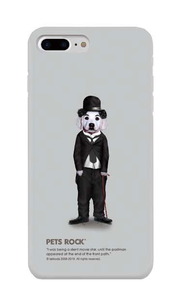 iPhone8 Plusのケース、《PETS ROCK》Tramp Full Length【スマホケース】
