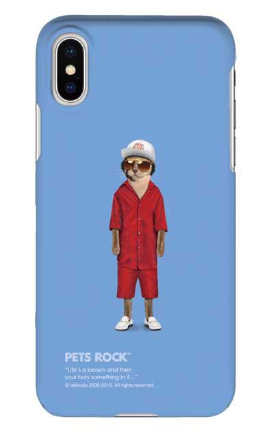 iPhoneXSのケース、《PETS ROCK》Mr Mercury【スマホケース】
