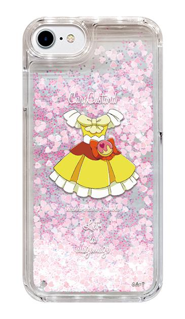 iPhone6sのグリッターケース、キュアカスタード【コスチューム】