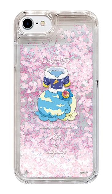 iPhone6のグリッターケース、キュアジェラート【コスチューム】