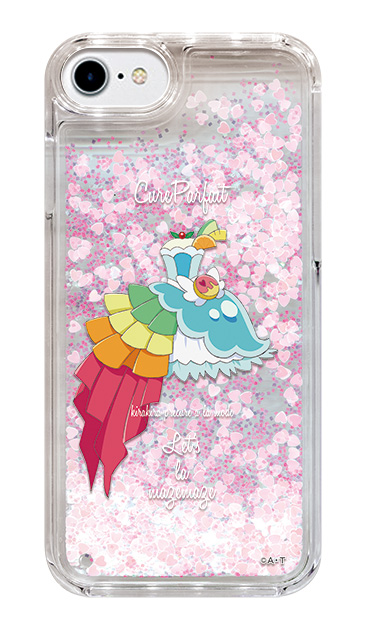 iPhone6のグリッターケース、キュアパルフェ【コスチューム】