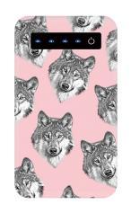 オオカミ集合【モバイルバッテリー】
